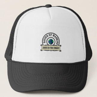 world savior trucker hat