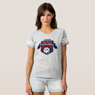 World Series of Pickleball - Woman's Football T T-shirt