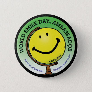 World Smile Day® 2015 Ambassador Button