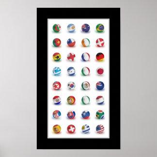 World Soccer 2010 - Poster