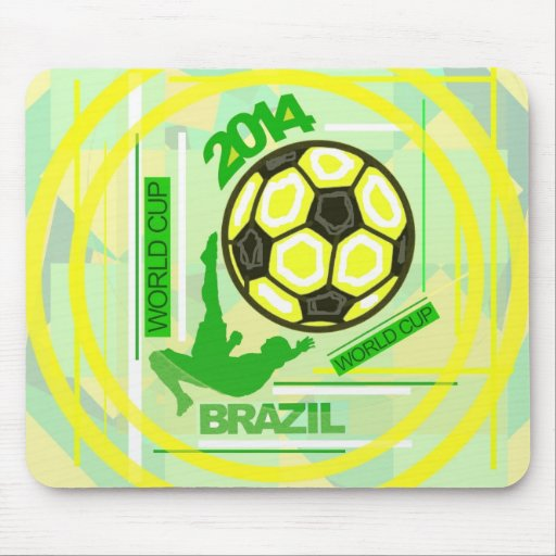 World Soccer/Football Competition. Mousepads