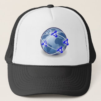 World Social Network Trucker Hat
