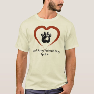 World Stray Animals Day Tee