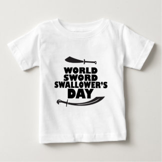 World Sword Swallower's Day - Appreciation Day Baby T-Shirt
