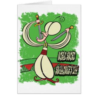 World Sword Swallower's Day - Appreciation Day Card