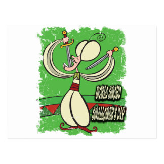 World Sword Swallower's Day - Appreciation Day Postcard