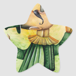 World Sword Swallower's Day - Appreciation Day Star Sticker