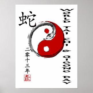 World Tai Chi & Qigong Day 2013 Poster