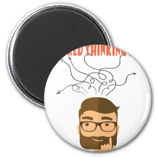 World Thinking Day - Appreciation Day 2 Inch Round Magnet
