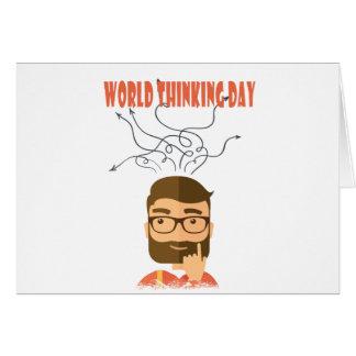 World Thinking Day - Appreciation Day Card