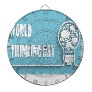 World Thinking Day - Appreciation Day Dartboard