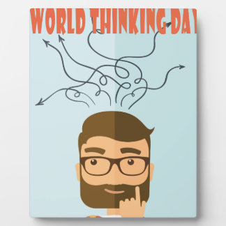 World Thinking Day - Appreciation Day Plaque