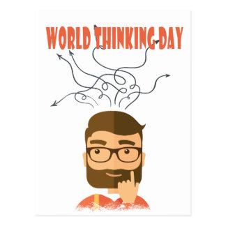 World Thinking Day - Appreciation Day Postcard