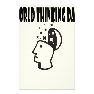 World Thinking Day - Appreciation Day Stationery
