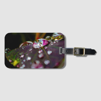 World Through a Droplet Luggage Tag