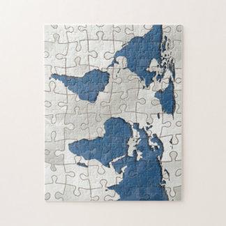 World tiles puzzle