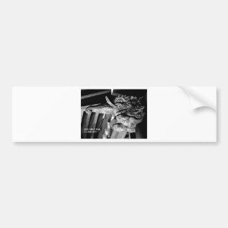 world top modern artist tokyo japan akagi bumper sticker