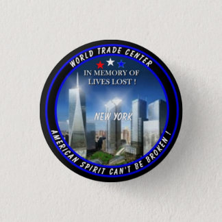 World Trade Center 1 Inch Round Button