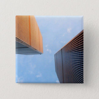 World Trade Center 2 Inch Square Button