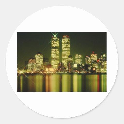 world trade center at night.jpg stickers