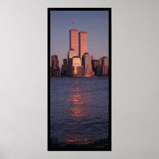 World Trade Center at Sunset Poster