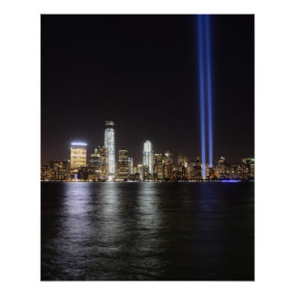 World Trade Center Remembrance Perfect Poster