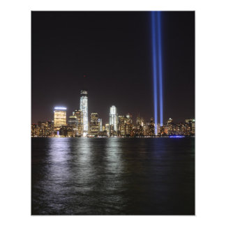 World Trade Center Remembrance Photo Print