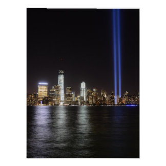 World Trade Center Remembrance Poster