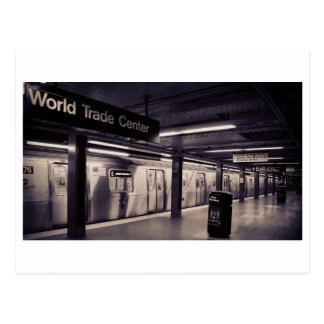 World Trade Center station, NYC Postcard