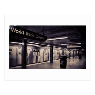 World Trade Center Subway Station - NYC Postcard