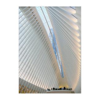 World Trade Center Transportation Hub, NY Acrylic Wall Art