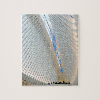 World Trade Center Transportation Hub, NY Jigsaw Puzzle