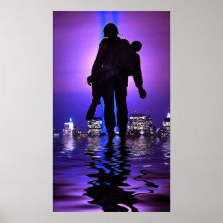 World Trade Center Tribute in Light Poster
