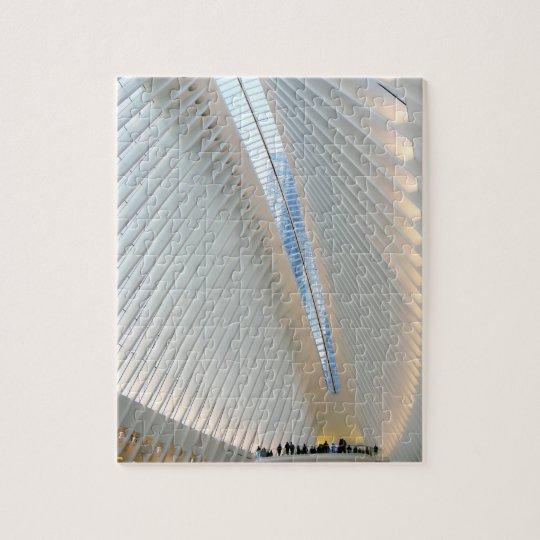 World Trade Centre Transportation Hub, NY Jigsaw Puzzle