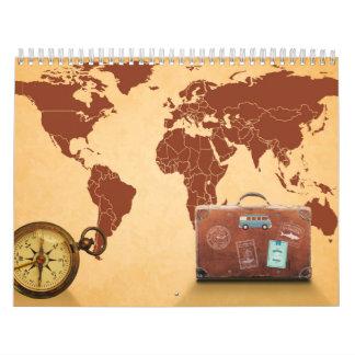 World travel calendar