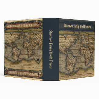 World Travel Custom Binder