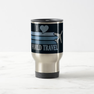 World Travel mug - choose style & color