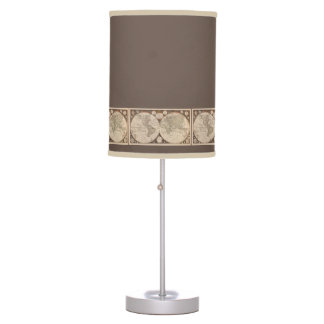 World Travel Table Lamp