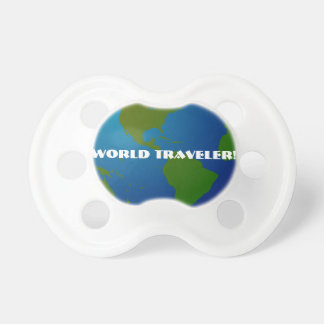 World Traveler Globe Pacifier