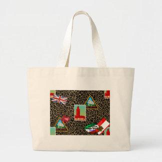 world traveler large tote bag