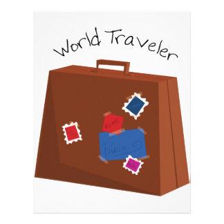 World Traveler Custom Letterhead