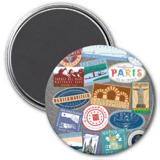 World Traveler-Magnet Magnet