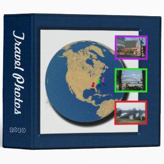 World Traveler Photo Album 3 Ring Binders