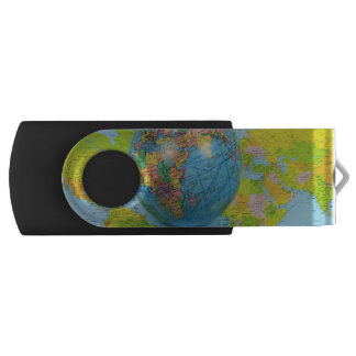 world traveler USB Drive Swivel USB 3.0 Flash Driv