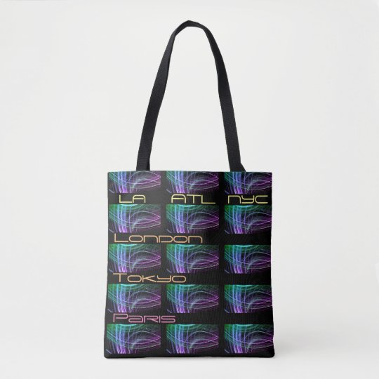 World Traveller Fashionista Tote Bag