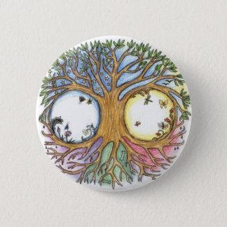 World Tree Badge 2 Inch Round Button