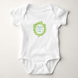 World tree day june 28 baby bodysuit