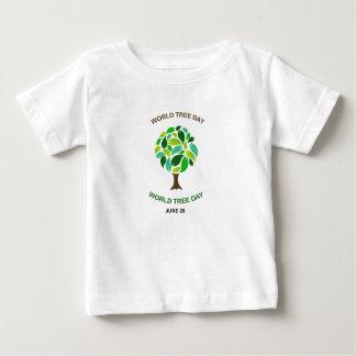 World tree day june 28 baby T-Shirt