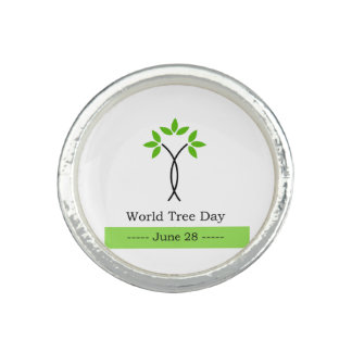 World tree day june 28 photo rings