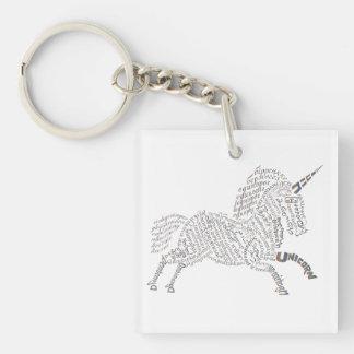 World Unicorn Keychain